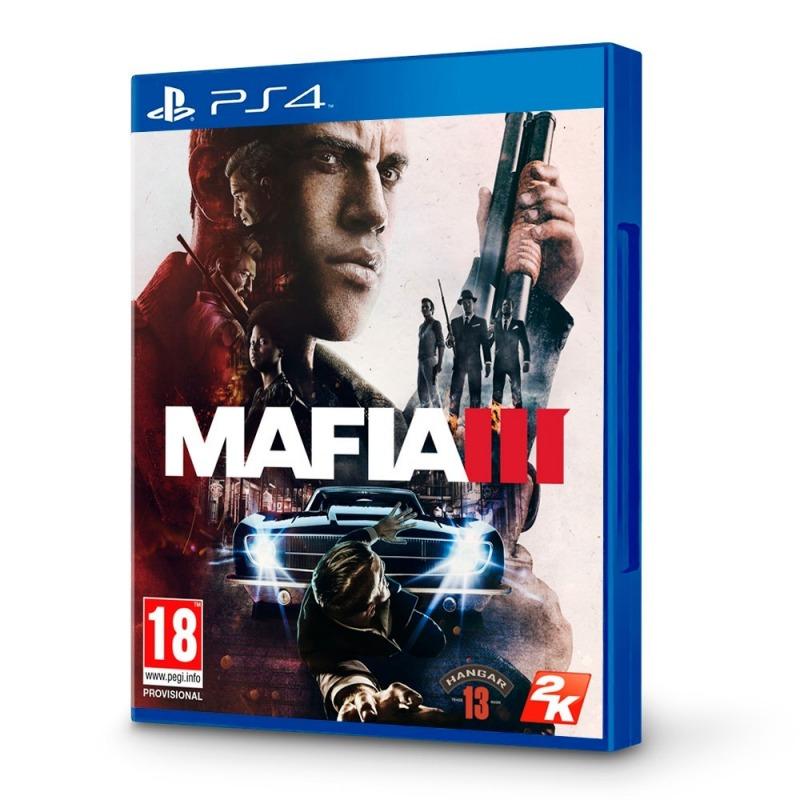 Диск для PS4 Mafia3