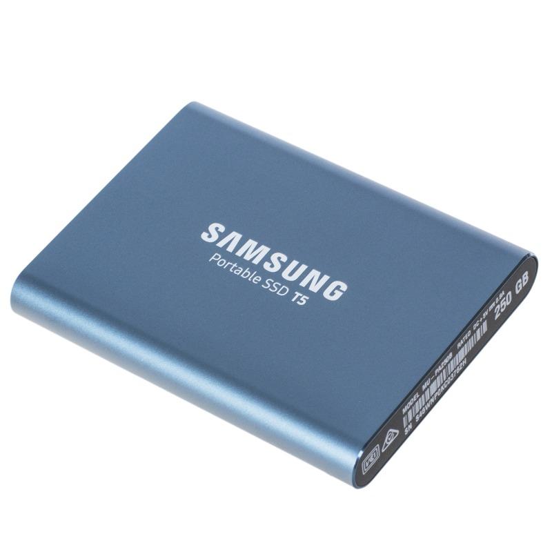 Внешний SSD Samsung Portable SSD T5 250GB