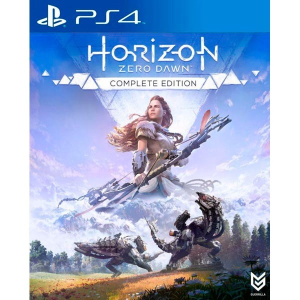 Диск PS4 Horizon Zero Dawn Complete Edition