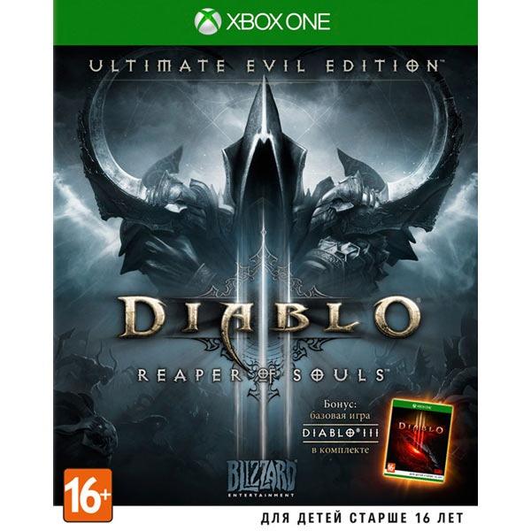 Диск XBOX ONE Diablo 3 Reaper of Souls