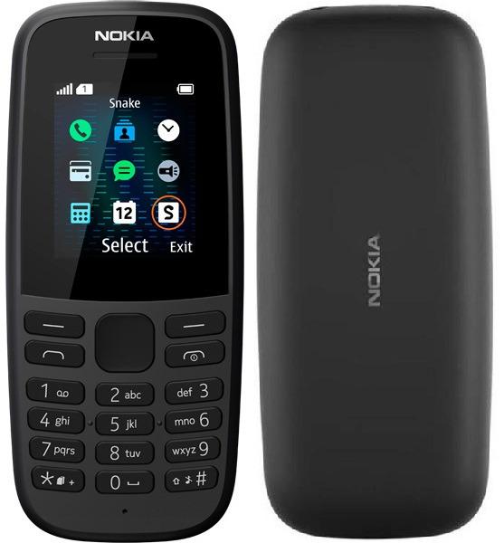 Телефон Nokia 105 SS (2019)