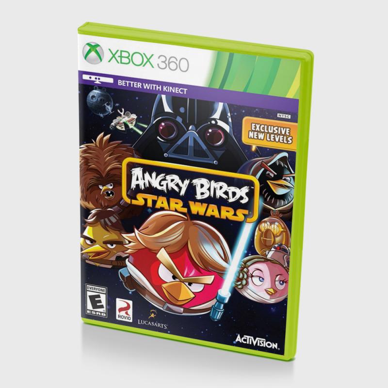 Диск для Xbox 360 Angry Birds Star Wars