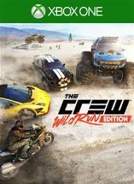 Диск Xbox One The Crew Wild Run Edition