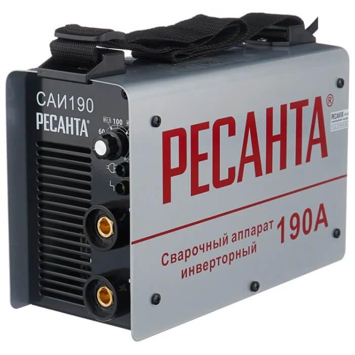 Сварочный аппарат инверторного типа РЕСАНТА САИ-190 MMA