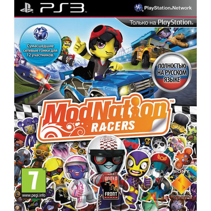 Диск для PS3 ModNation Racers