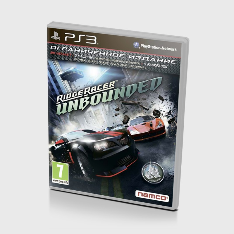 Диск на PS3 Ridge Racer Unbounded