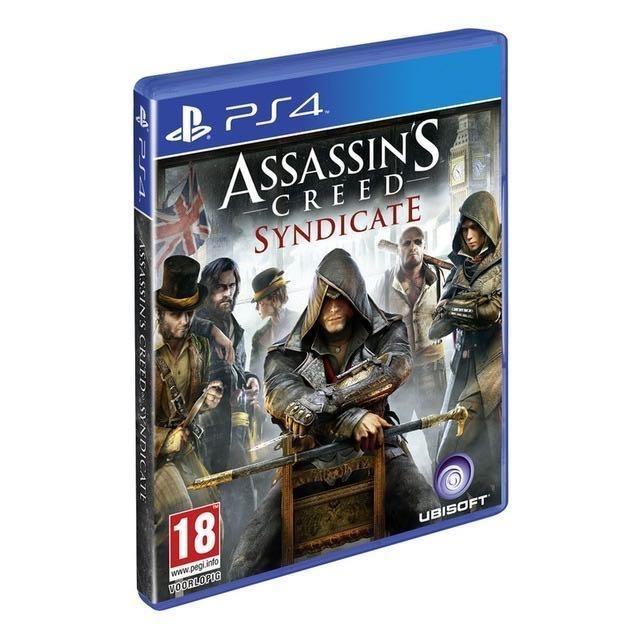Диск PS-4 Assassins Creed Синдикат