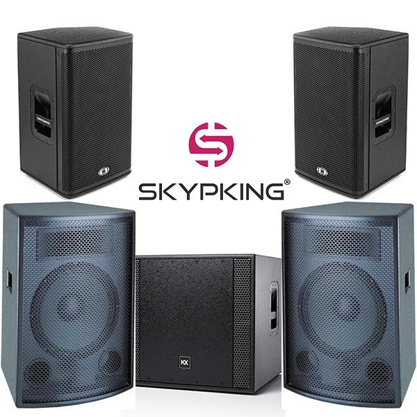 Акустическая система: Dynacord A112 x2, Soundking FQ013B x2, KX Audio KX 1.5