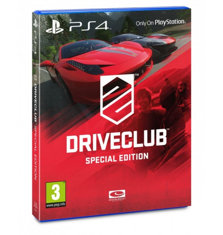 Диск DRIVECLUB