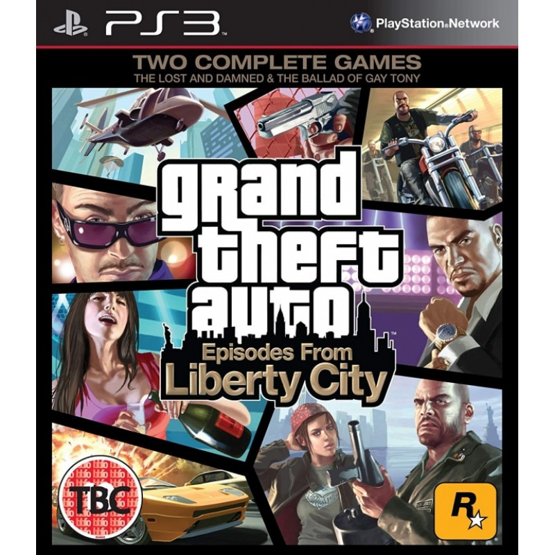 Диск для PS3 Grand Theft Auto: Episodes from Liberty City