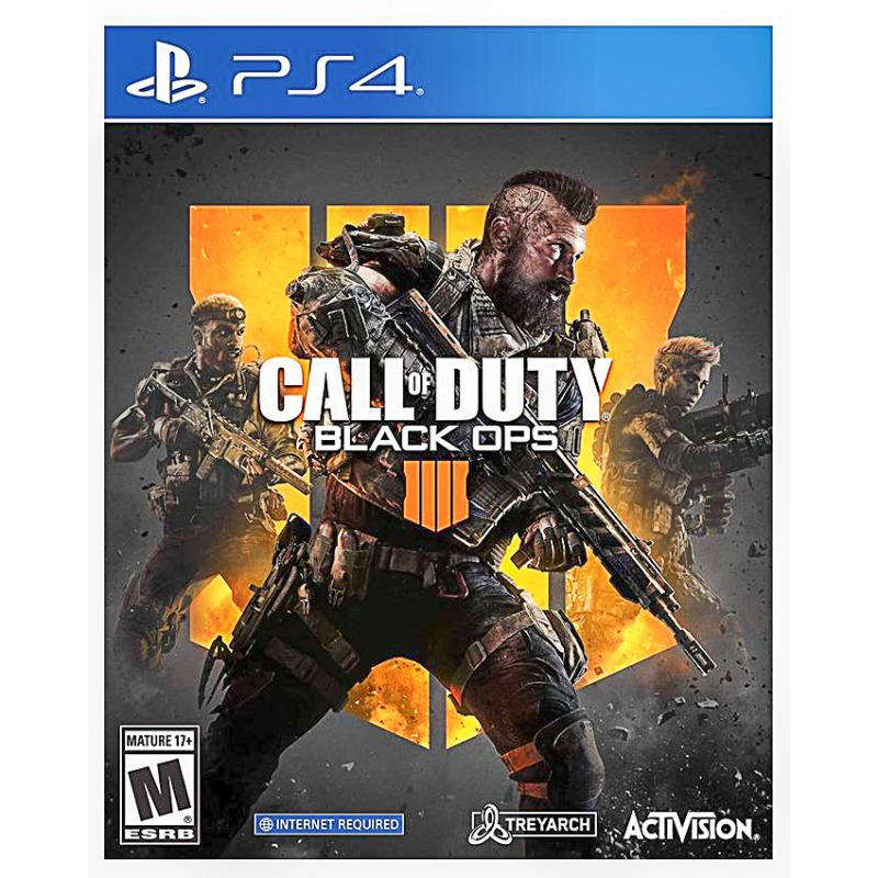 Игровой диск Call of Duty: Black Ops 4