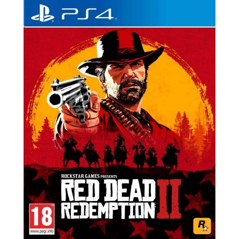 Диск для PS4 Red Dead Redemption 2