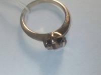 Кольцо с коричневым камнем Золото 585 (14K) вес 2.60 г
