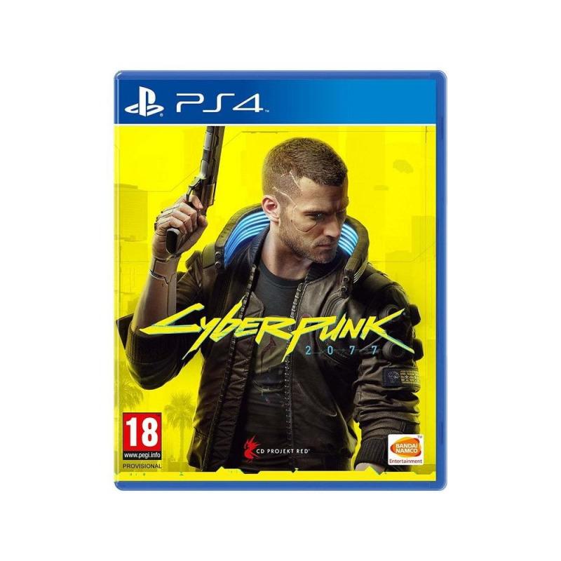 Диск для PS4 Cyber Punk 2077