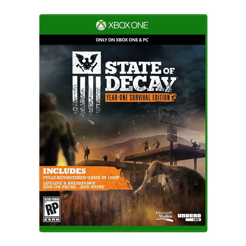 Диск Xbox One State of Decay: Year-One Survival Edition