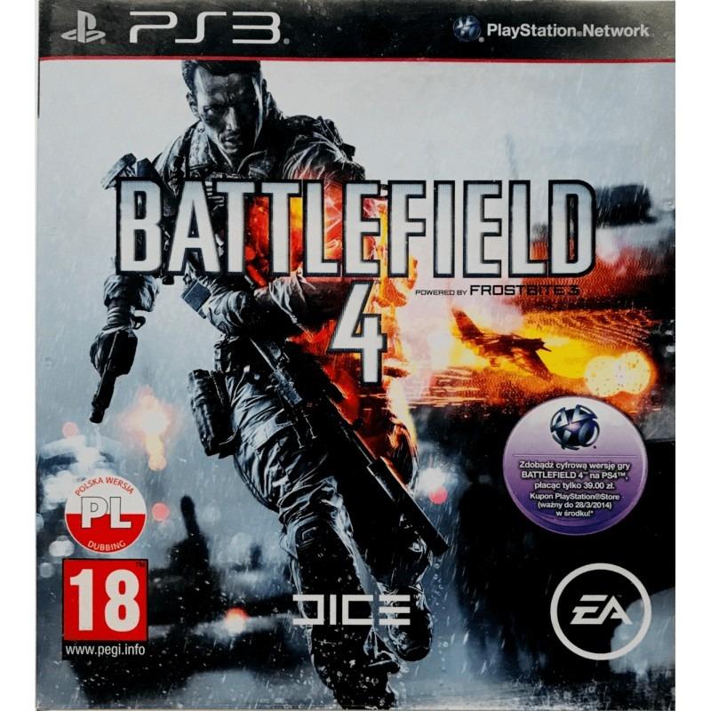 Игровой диск PS3-Battlefield 4