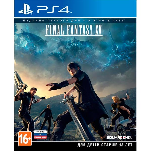Диск PS4 Final Fantasy XV