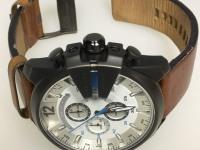 Часы наручные Diesel dz4280,доки,б/у,п/ц,слетела метка на 5 часов,на кожаном коричневом ремешке