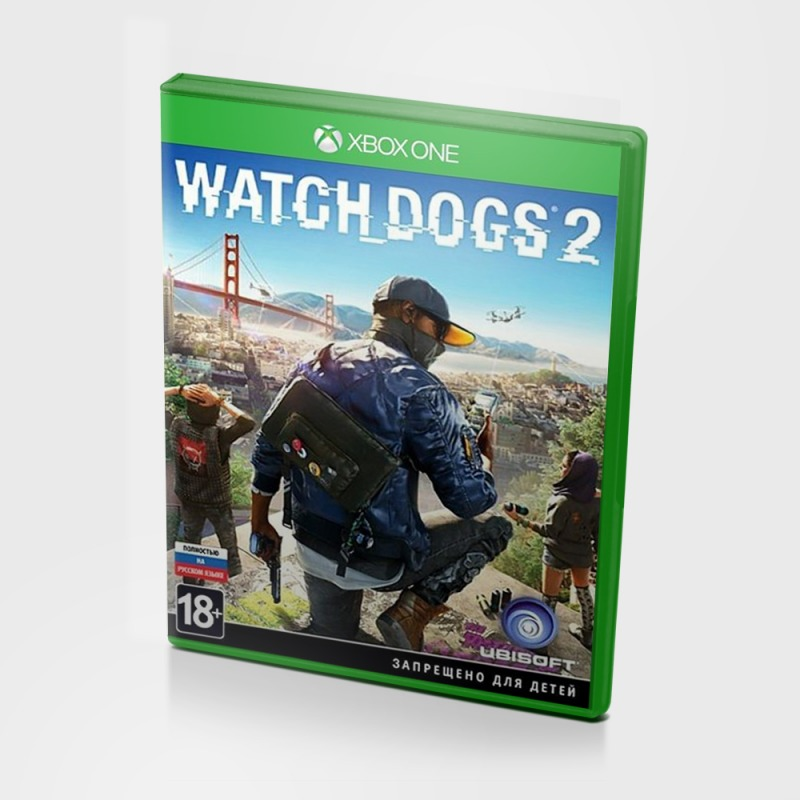 Диск Xbox One Watch Dogs 2