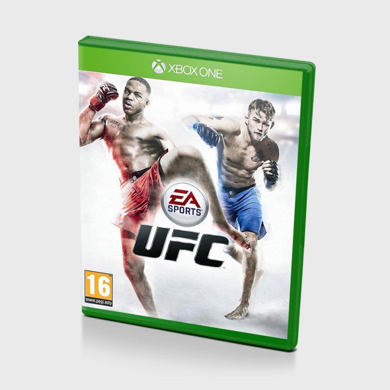 Диск для Xbox ONE UFC