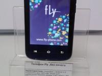 Телефон Fly ,без ничего