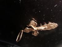 КРЕСТ Золото 375 (9K) вес 1.43 гр.