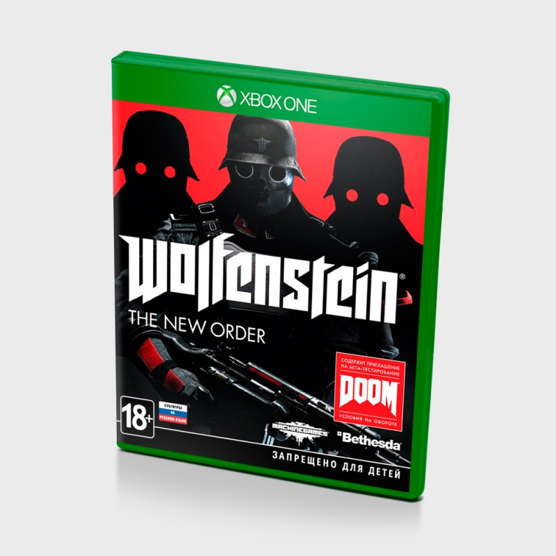Диск Xbox One Wolfenstein: The New Order