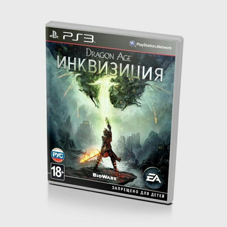 Диск для PS3 Иквизиция