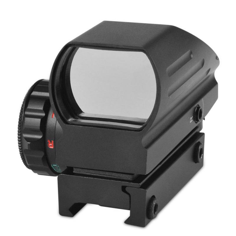 Коллиматорный прицел Red and Green DOT Reflex Sight