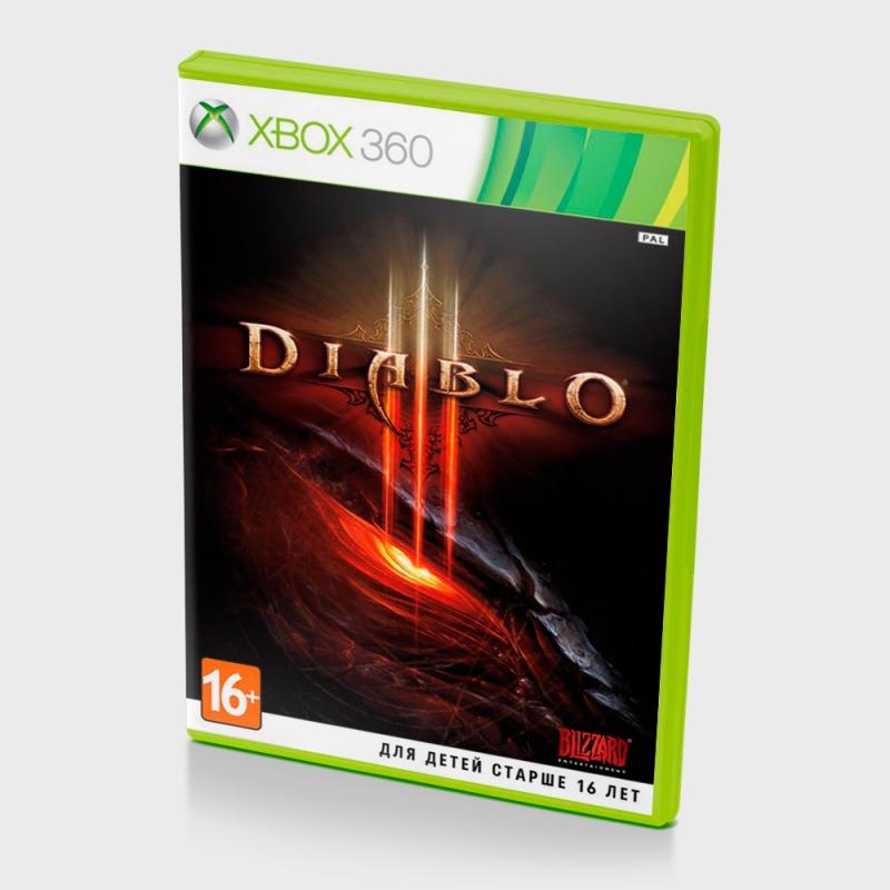 Диск на xBox 360 Diablo 3