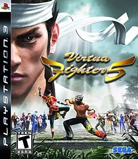 Диск PS3 Virtua Fighter 5