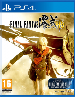 Диск PS4 Final Fantasy: Type-0 HD