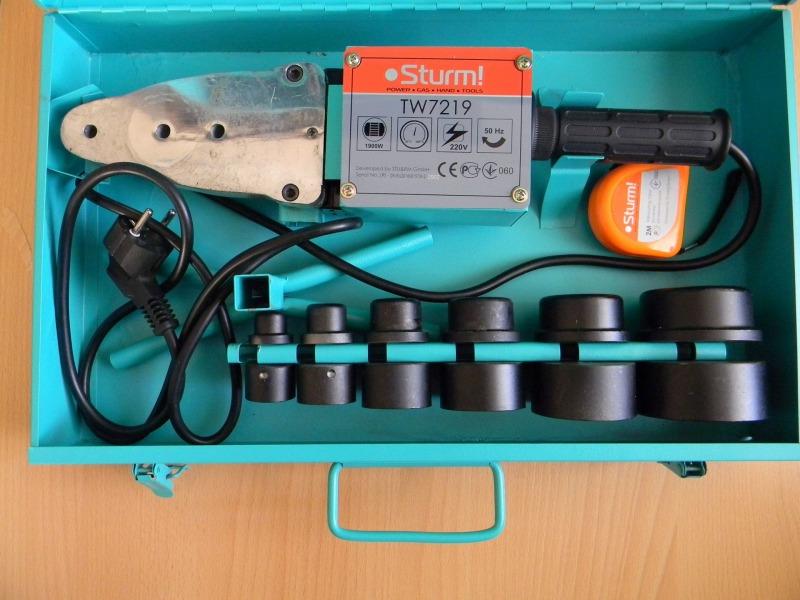 Аппарат для раструбной сварки Sturm! TW7219