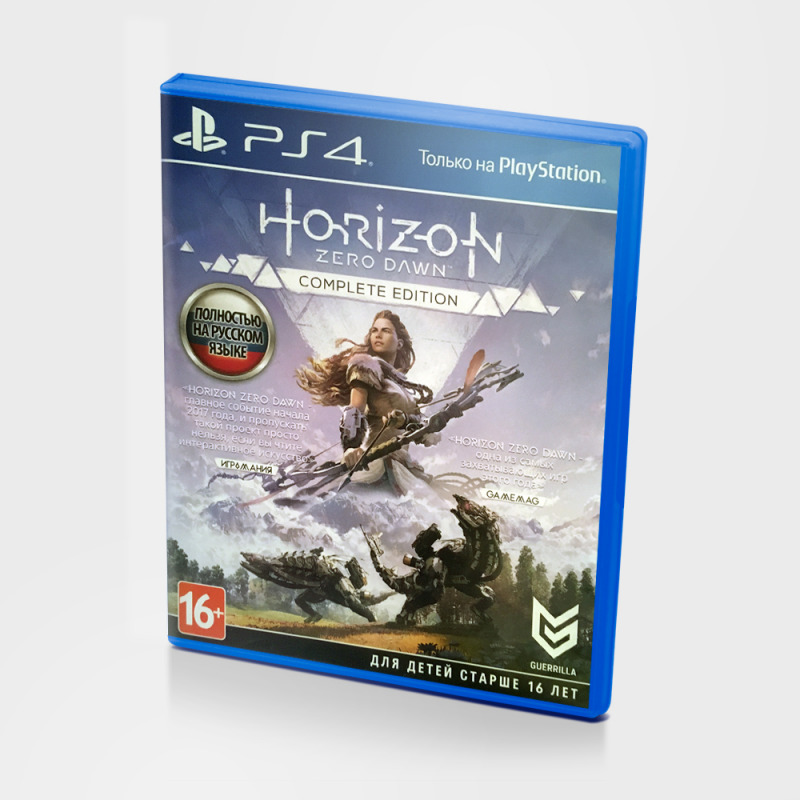 Диск для Sony PS4  Horizon zero dawn