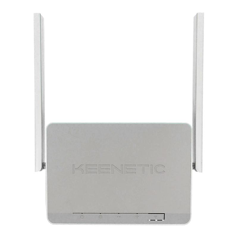 Роутер беспроводной Keenetic Lite (KN-1311) N300 10/100BASE-TX белый