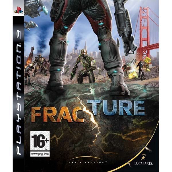 Диск PS3 Fracture