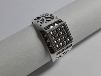 Кольцо р-р 21 Серебро 925 вес 5.99 г