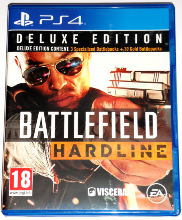 Диск PS4 Battlefield Hardline