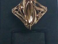 Кольцо Золото 585 (14K) вес 4.03 г