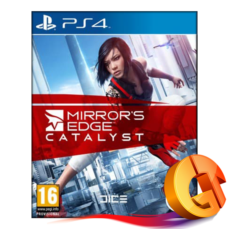 Диск PS-4 Mirrors Edge Catalyst
