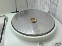 Кольцо гладкое Золото 585 (14K) вес 2.23 г