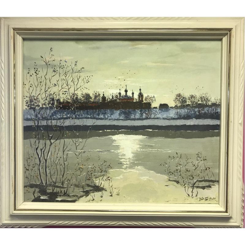 Картина «Монастырь у озера»