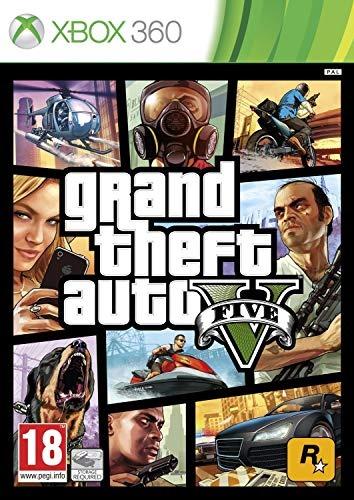 Диск Xbox 360 GTA V