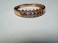 Кольцо с камнями Золото 585(Друг) вес 1.55 г