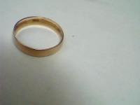 Кольцо обручальное Золото 585 (14K) вес 1.08 г