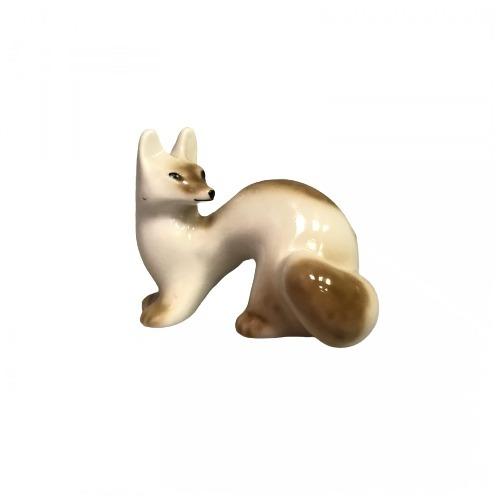Фарфоровая статуэтка «Лисенок»