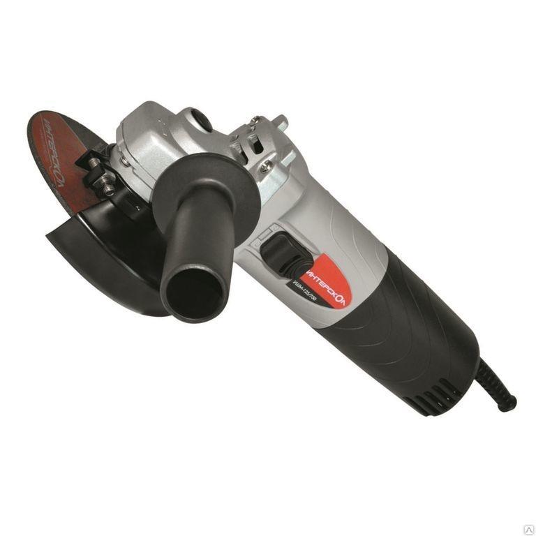 УШМ Интерскол УШМ-125/900 42.1.0.00, 900 Вт, 125 мм