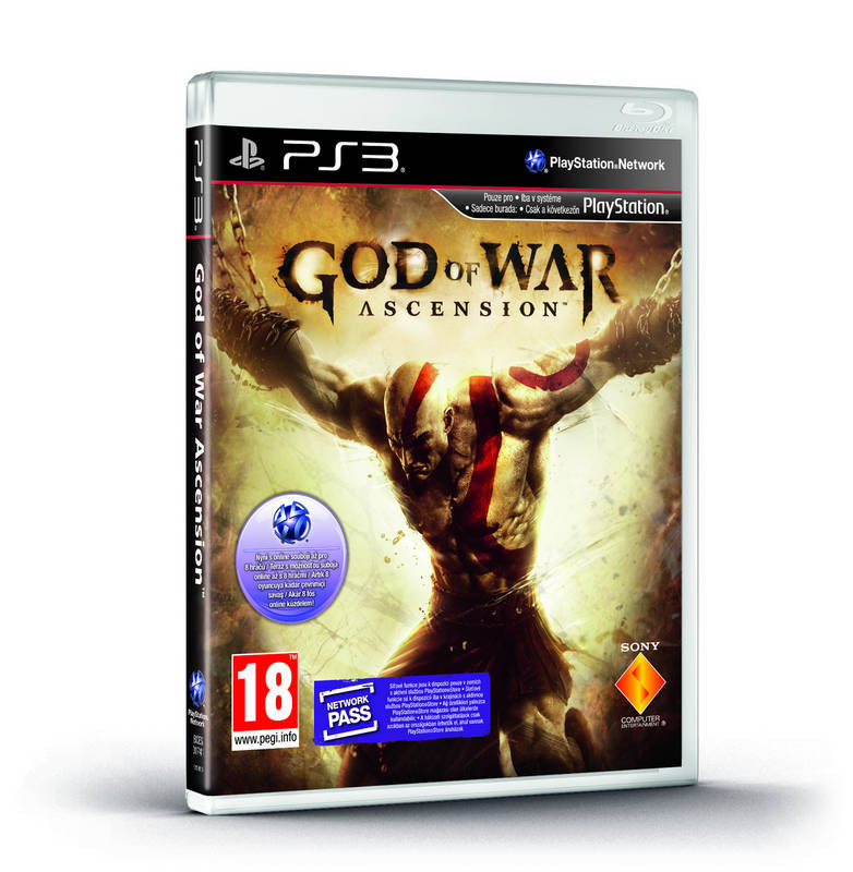 Диск для PS3 God of War Ascension