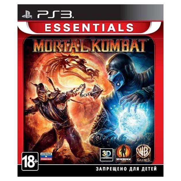 Диск для Sony PS3 Mortal Kombat Essentials