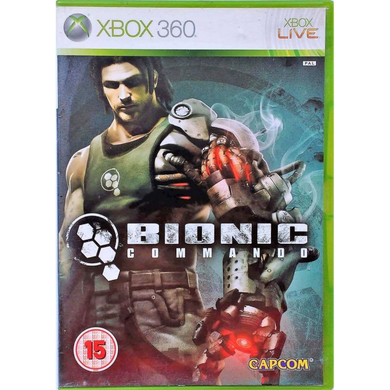 Диск Xbox 360 Bionic Commando